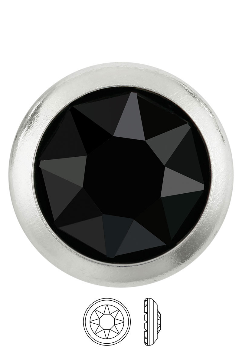 www.beadyourfashion.com - SWAROVSKI ELEMENTS flat backs 2078/H Framed Flat Back Hotfix SS16 4,5mm