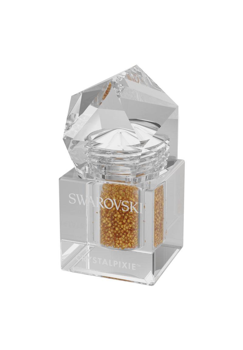 www.beadyourfashion.com - SWAROVSKI ELEMENTS nail art CRYSTALPIXIE Petite 2G Gorgeous Gold