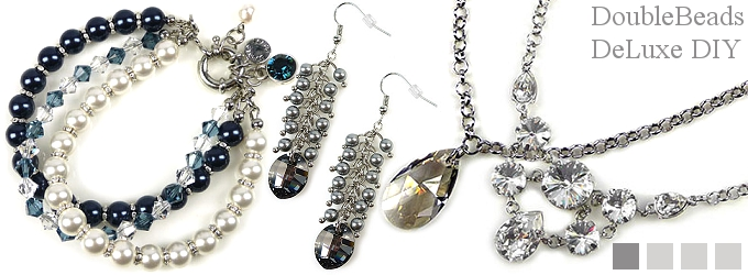 www.beadyourfashion.nl - DoubleBeads DeLuxe sieradenpakketten