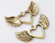 www.beadyourfashion.com - Metal charms angel