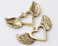 www.beadyourfashion.es - Colgantes de metal ángel