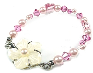 www.beadyourfashion.nl - BeadYourFashion Mini project Flower bracelet
