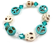 www.beadyourfashion.nl - BeadYourFashion Mini project Imitation turquoise bracelet