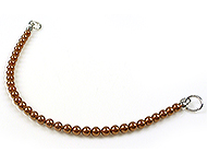 www.beadyourfashion.com - DoubleBeads EasyClip strands