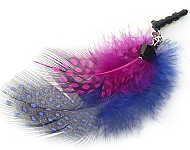 www.beadyourfashion.nl - BeadYourFashion Mini project Anti-dust plug feathers