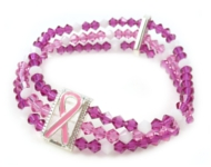 www.beadyourfashion.de - BeadYourFashion Mini-Projekt Pink Ribbon Bracelet