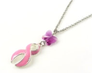 www.beadyourfashion.de - BeadYourFashion Mini-Projekt Pink Ribbon Necklace