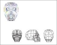 www.beadyourfashion.nl - 5750 Skull Bead