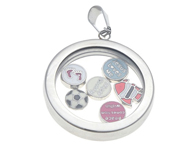 www.beadyourfashion.es - Floating Charm Locket