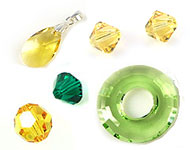 www.beadyourfashion.com - Spotlight: Yellow & Green