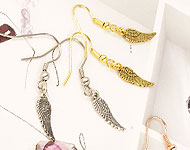 www.beadyourfashion.com - BeadYourFashion Mini Project Feather Earrings