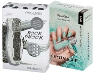 www.beadyourfashion.com - New! SWAROVSKI ELEMENTS nail art CRYSTALPIXIE