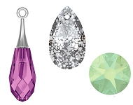 www.beadyourfashion.com - New SWAROVSKI<sup>®</sup> ELEMENTS drop pendants