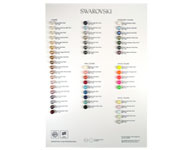 www.beadyourfashion.nl - SWAROVSKI ELEMENTS Crystal Pearls Colour Chart